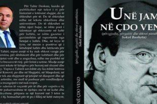 """Sokol Bashota: """"Unë jam në çdo vend"""", një libër kushtuar shkrimtarit, poetit dhe reporterit të luftës së UÇK-së, Tahir Desku"""