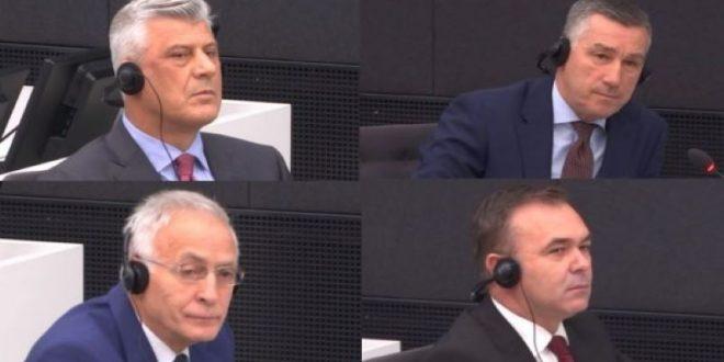 Sot u mbajt seanca gjyqësore e radhës kundër ish-kryetarit të Kosovës Hashim Thaçi, dhe ish krerëve të UÇK- së