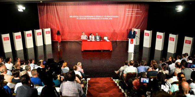 Vetëvendosja ka zgjedhur strukturat udhëheqëse në mbledhjen e Këshillit të Përgjithshëm të Partisë