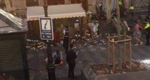 Nga një sulm terrorist shumë të vdekur e dhjetëra të tjerë të plagosur në Barcelonë të Katalunjës