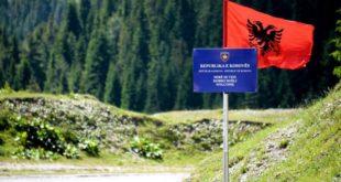 Policia e Malit të Zi ka hequr flamurin shqiptar në pikën ku e kishte shënuar Vetëvendosja