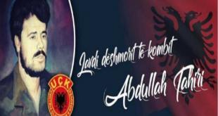Me 19 maj 2019 në Gjilan mbahet Akademi përkujtimore në 20 vjetorin rënies së heroit të kombit, Abdullah Tahiri