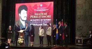 """Në 20 vjetorin e rënies dëshmori i kombit Abdullah Tahiri dekorohet me Urdhrin """"Hero i Kosovës"""""""