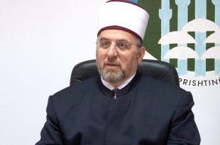 Myftiu Tërnava i uron besimtarët në prag të Kurban Bajramit dhe i fton ata për kujdes për respektim të masave ndaj virusit korona
