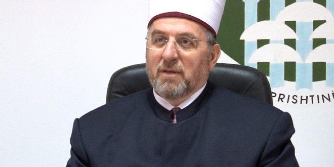 Pas shtimit të rasteve më COVID-19 myftiu Tërnava apelon imamët për kujdes dhe të mos e zgjasin hytben më shumë se 10 minuta