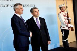 Thaçi në Bullgari: Të ndërmerren hapa të përbashkët për rajonin