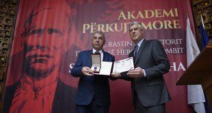 """Në 75 vjetorin e rëniës heroike të Shaban Palluzhës, kryetari Thaçi e dekoron me Urdhërin """"Hero i Kosovës"""""""