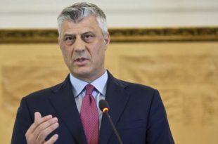 Thaçi: Ngecjet e identifikuara në raportin e Departamenti Amerikan të Shtetit duhet të merren seriozisht nga Kosova