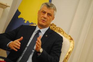 Kryetari Thaçi: Populli dhe institucionet e Kosovës ndajnë dhimbjen me familjet e viktimave në Zelandën e Re