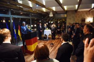 Thaçi arsyeton bashkimin e dy gjermanive, nuk flet për bashkimin e Kosovës me Shqipërinë