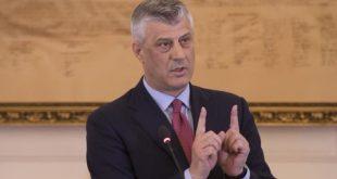 Hashim Thaçi thotë se individë të caktuar me veprimet e tyre po tentojnë të krijojnë panik dhe konfuzion