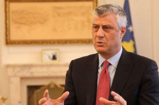 Kryetari i vendit, Hashim Thaçi thotë se viti 2019 duhet të jetë vit i vendimeve të mëdha edhe për Kosovën