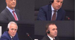 Seanca e radhës në Gjykatën Speciale ndaj Hashim Thaçit, Kadri Veselit dhe të tjerëve mbahet me 24 mars