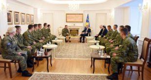 Thaçi: FSK-ja është rritur në forcë të standardeve më të larta ndërkombëtare