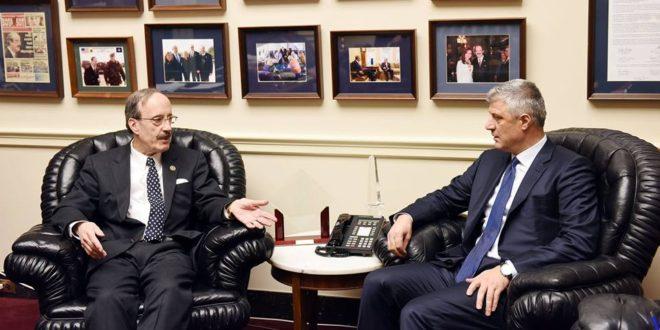 Eliot Engel dhe Hashim Thaçi kërkojnë lirimin sa më të shpejtë të Ramush Haradinajt