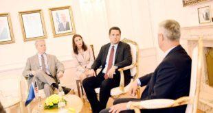 Kryetari i Kosovës, Hashim Thaçi ka pritur sot në takim kongresmenin amerikan, Devin Nunes