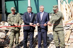 Kryetari Thaçi, mori pjesë në përurimin e Qendrës për Kërkim dhe Shpëtim të FSK-së, në fshatin Pomozotin