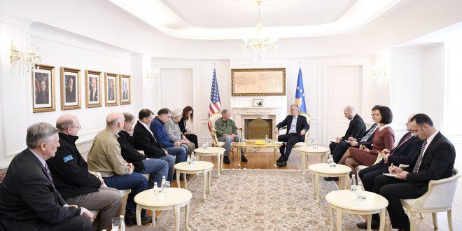 Thaçi falënderoi senatorët e kongresistët amerikanë për kontributin e tyre në procesin e lirisë dhe pavarësisë së Kosovës