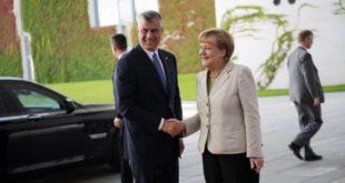 Hashim Thaçi dhe Angela Merkel