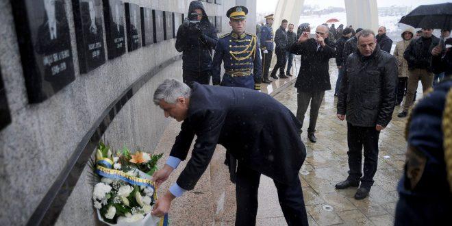 Thaçi: Para 20 vjetësh, Reçaku hyri në historinë e Kosovës si simbol i sakrificës dhe martirizimit për lirinë që e gëzojmë sot