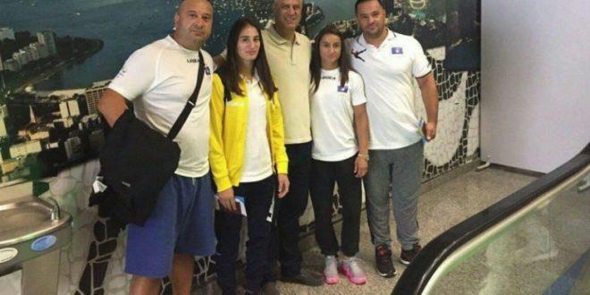 Kryetari Hashim Thaçi ka udhëtuar me sportistët tonë për në Rio