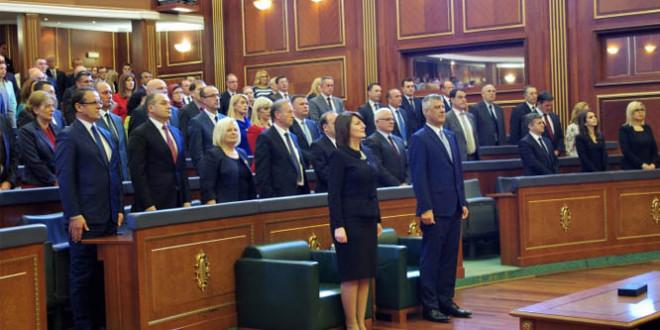 Pjesëtarë të familjeve: Jashari dhe Haradinaj nuk morën pjesë në ceremoninë e betimit të Hashim Thaçit, në Kuvend