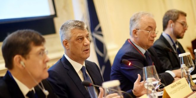 Kryetari Thaçi, mori pjesë në seminarin e 93-të të Asamblesë Parlamentare të NATO-s, në Prishtinë