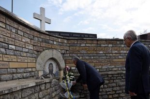 Kryetari, Hashim Thaçi, vazhdon të vizitojë varrezat e serbëve të vrarë gjatë luftës në Kosovë
