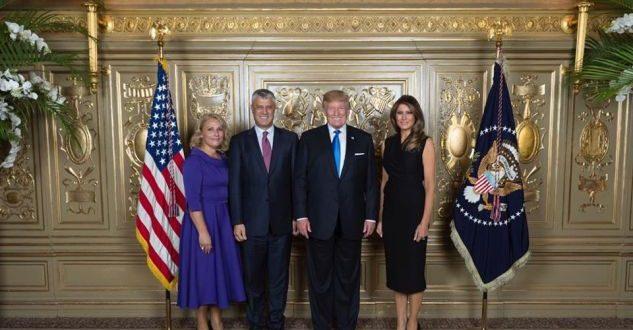 Burime diplomatike bëjnë të ditur se kryetari, Hashim Thaçi, do të takohet me kryetarin amerikan, Donald Trump