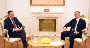 Kryetari, Thaçi priti në takim kryekuvendarin, Veseli
