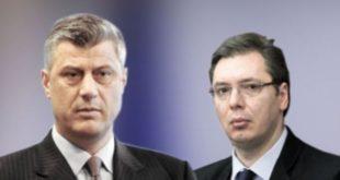 Hashim Thaçi dhe Aleksander Vuqiç