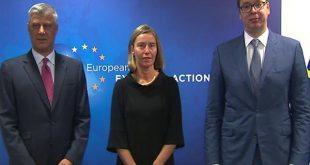 Kryetari i Kosovës, Hashim Thaçi dhe ai i Serbisë, Aleksandar Vuçiq takohen më 24 qershor, në Bruksel
