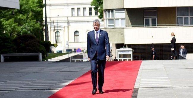 Kryetari i Republikës së Kosovës, Hashim Thaçi, sot ka udhëtuar për në Mbretërinë e Bashkuar