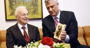 """Kryetari Thaçi e krijon urdhrin """"Adem Demaçi"""". Ky që do t'u ndahet personaliteteve të vendit tonë që shquhen për qëndresë"""