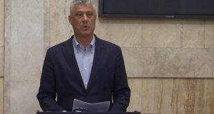Hashim Thaçi: Nuk do të ketë shkëmbim territoresh në mes të Kosovës dhe Serbisë, por vetëm përmirësim historik