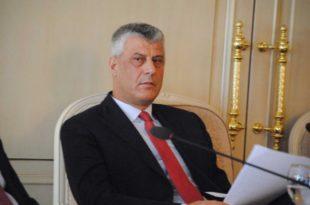 Kryetari Thaçi: Vrasësit që kanë kryer krime, kurrë nuk do të mund të kthehen në Kosovë
