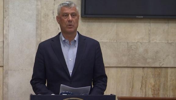 Thaçi: Ftesa e Grenellit dëshmon mbështetjen dhe përkushtimin e SHBA-ve për dialogun më Serbinë
