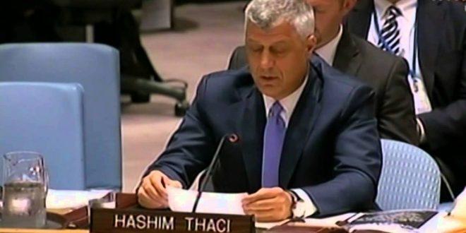 Kryetari i Kosovës, Hashim Thaçi nesër në Këshillin e Sigurimit do të përballet me kryetarin serb Vuçiq, për ushtrinë