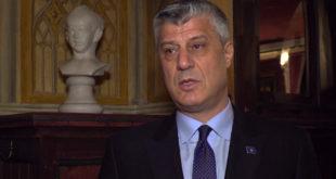 Kryetari Thaçi i propozon Kuvendit dekretin për shpallen e gjendjes së jashtëzakonshme në Kosovë