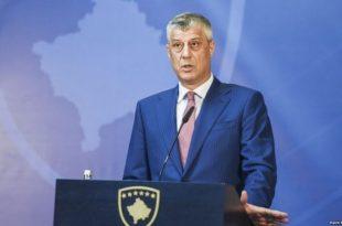 """Kryetari i Kosovës, Hashim Thaçi, """"distancohet"""" nga deklaratat antikombëtare të Baton Haxhiut"""