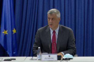 Thaçi: Kosova ka shënuar një rënie të numrit të trafikimit me njerëz në vend dhe kjo falë punës se institucioneve