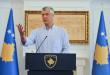 Thaçi: Mbetja në fuqi e tarifës është pengesë serioze dhe e pamundëson bashkëpunimin strategjik me SHBA-në