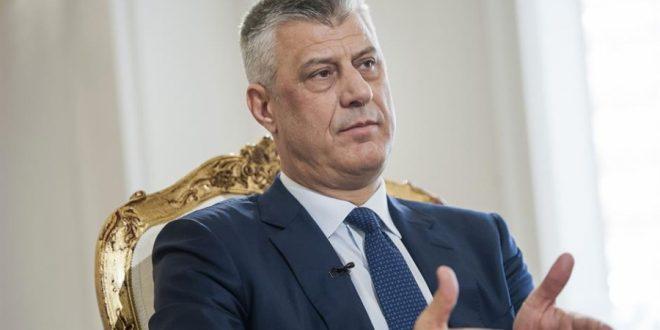 Thaçi: Vizat hiqen në momentin kur subjektet politike i lënë inatet dhe flasin mirë për vendin, në takime me zyrtarë të BE-së