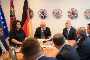 Kryeministri Haradinaj: Diaspora jonë në Gjermani ka luajtur nëpër të gjitha proceset në të cilat ka kaluar vendi ynë