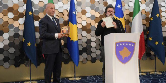 Kryeministri i vendit, Ramush Haradinaj është takuar me delegacionin e komunave të Arbreshëve të Italisë