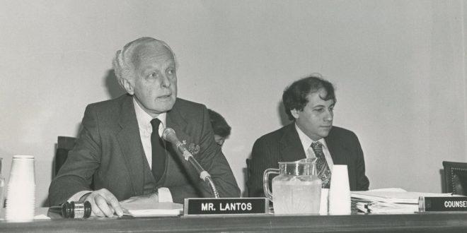 """Universiteti i Gjakovës i jep titullin """"Doctor Honoris Causa"""" - Post mortem ish Kongresistit Thomas Peter 'Tom' Lantos"""