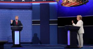 Debati i fundit mes kandidatëve presidencialë, Hillary Clinton dhe Donald Trump ishte i acaruar dhe intolerant