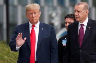Kryetari amerikan, Donald Trump, përshëndeti marrëdhëniet shumë të mira me kryetarin e Turqisë, Erdogan