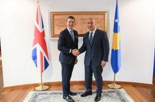 Kryeministri Haradinaj është takuar me Komisionerin për Tregti për Evropë në Britaninë e Madhe, Andrew Mitchell