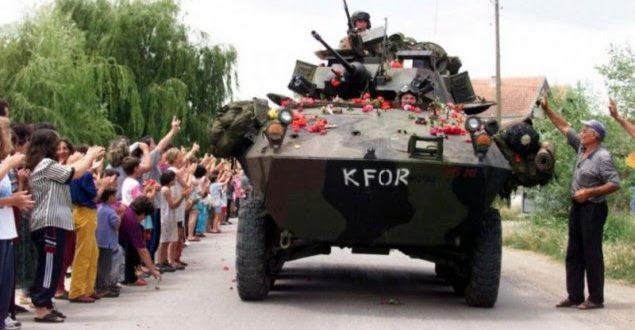 20 vjet më parë trupat ushtarake të Aleancës Veriatlantike, hynë në Kosovë edhe me këmbësori